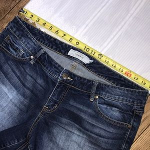 torrid Shorts - Torrid Faded Denim Cut Off Shorts